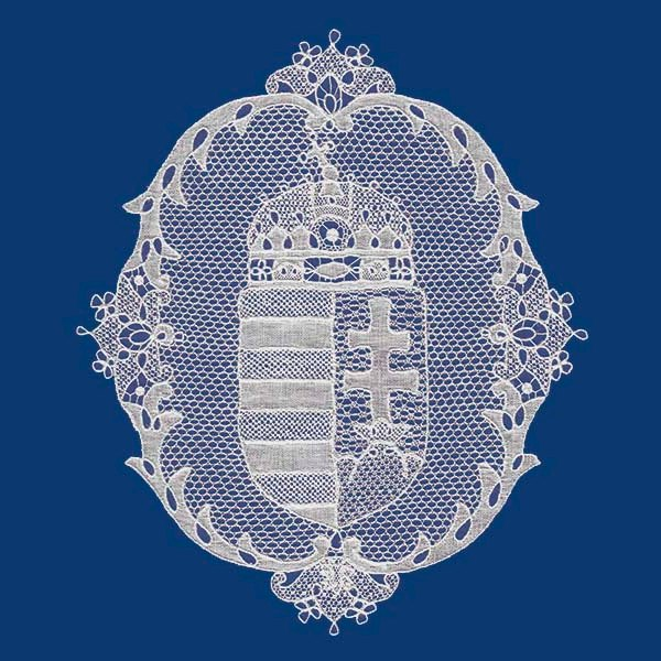 magyar címer halasi csipke